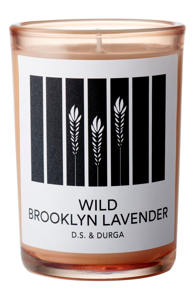 D.S. & DURGA Wild Brooklyn Lavender Scented Candle, Main, color, NO COLOR