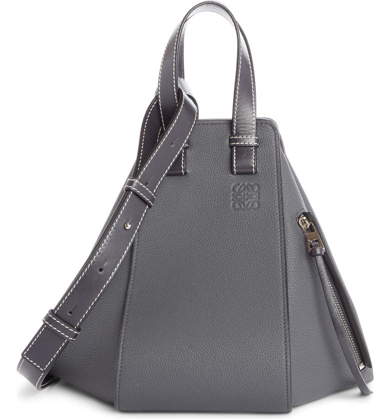 LOEWE Hammock Small Pebbled Leather Hobo, Main, color, 064