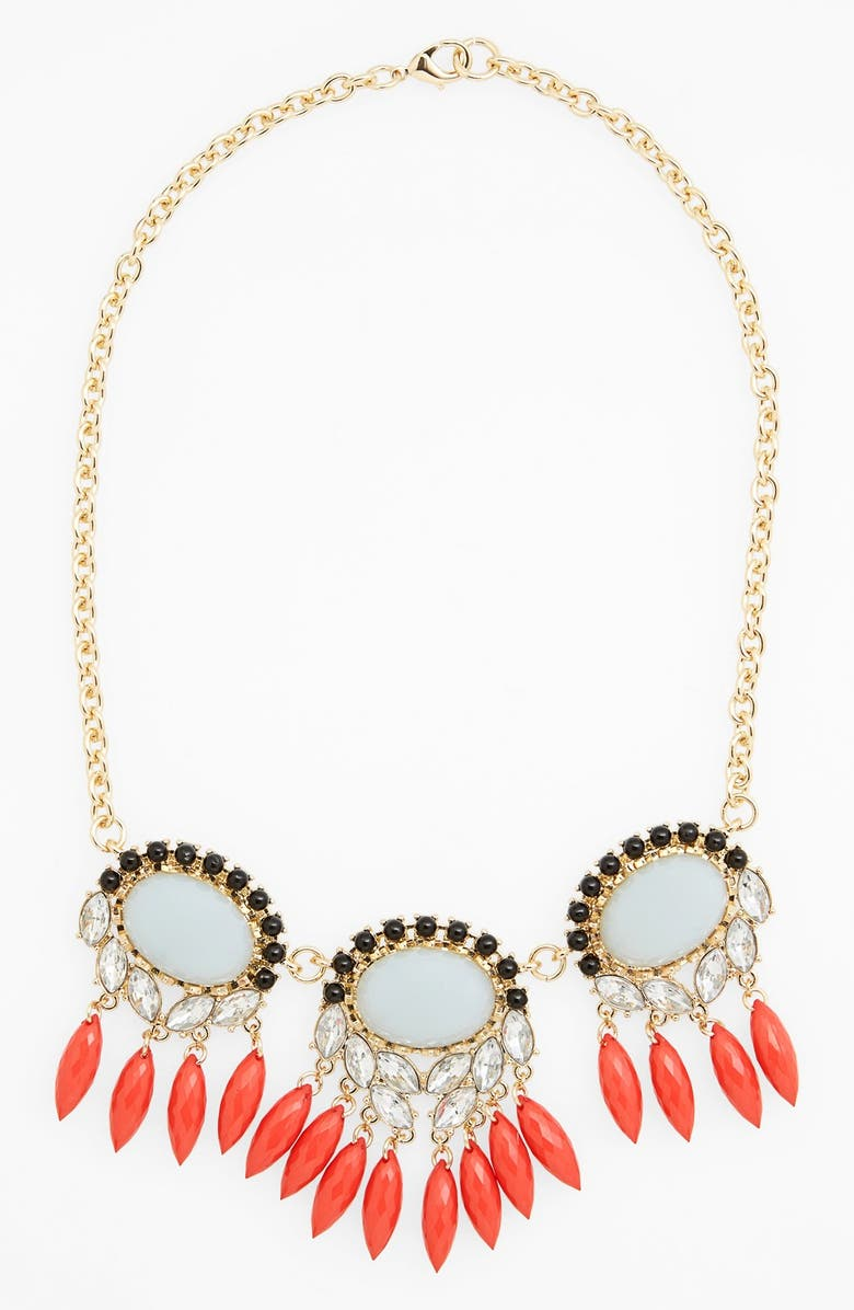 MISSING PIECE Crystal Statement Necklace, Main, color, 710