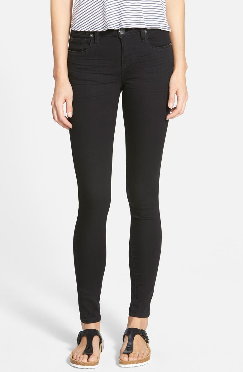 STS BLUE 'Piper' Skinny Jeans, Main, color, Black