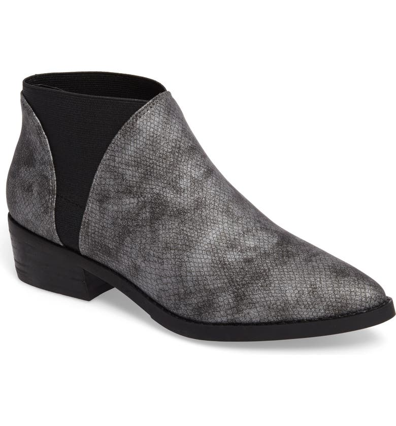 COCONUTS BY MATISSE Ester Bootie, Main, color, PEWTER SNAKE PRINT