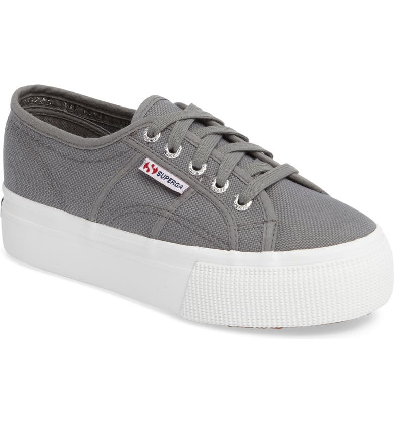 SUPERGA Acot Linea Platform Sneaker, Main, color, GREY SAGE