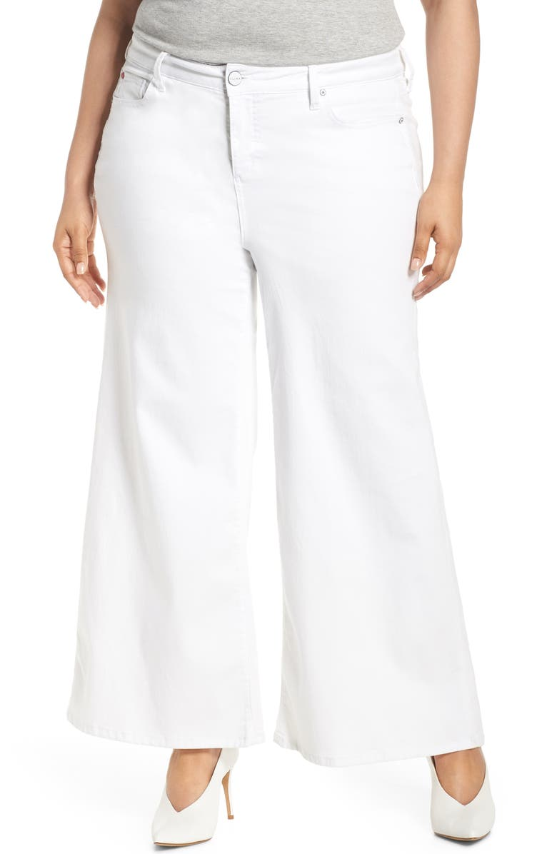 SLINK JEANS High Waist Culotte Jeans, Main, color, 108