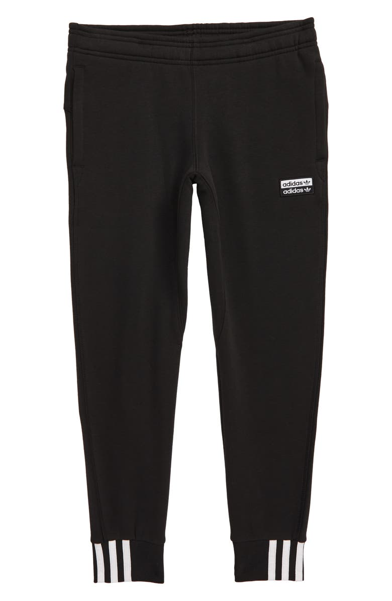 ADIDAS ORIGINALS adidas V-Ocal Fleece Sweatpants, Main, color, 001