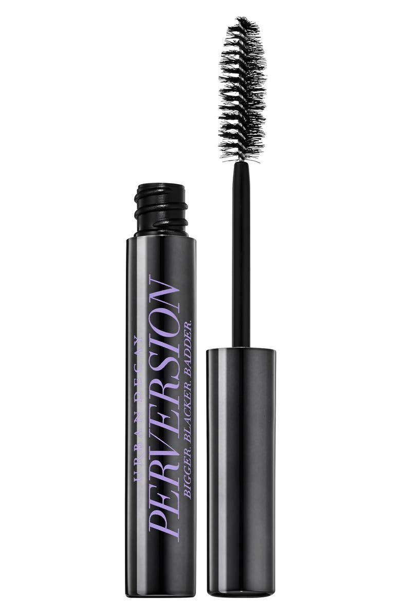 URBAN DECAY Travel Size Perversion Mascara, Main, color, BLACK