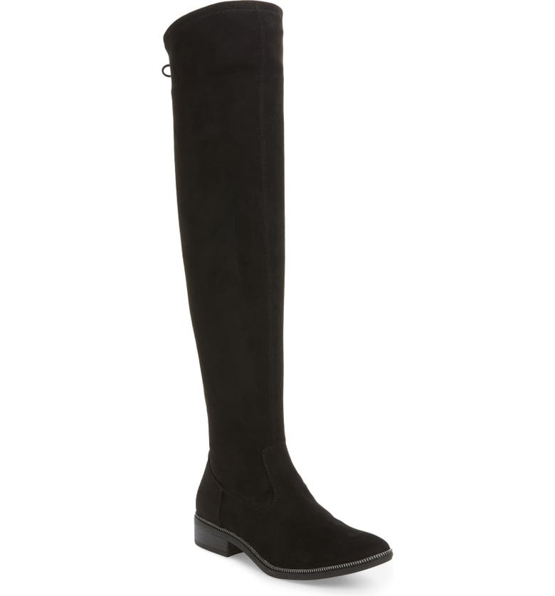 TAMARIS Phanie Over the Knee Stretch Boot, Main, color, 001