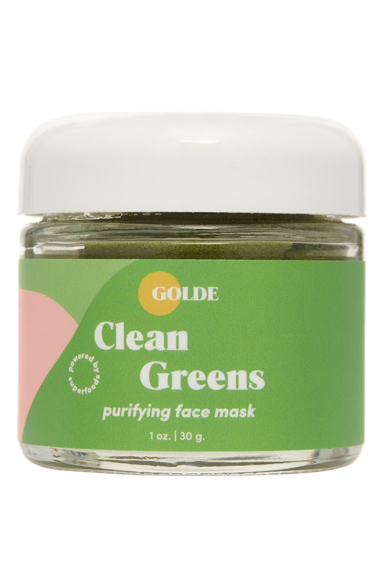 GOLDE Clean Greens Purifying Face Mask, Main, color, NO COLOR