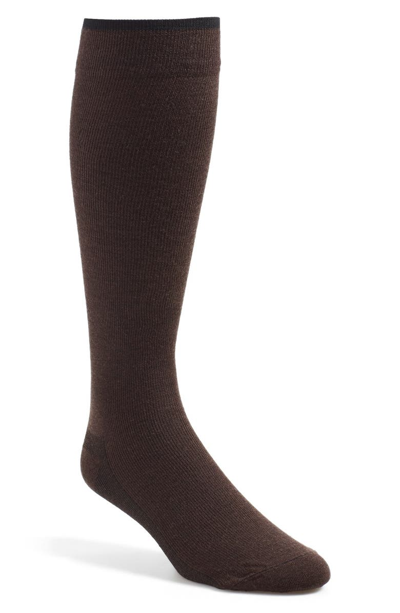 INSIGNIA BY SIGVARIS Venturist Over theCalf Dress Socks, Main, color, 200