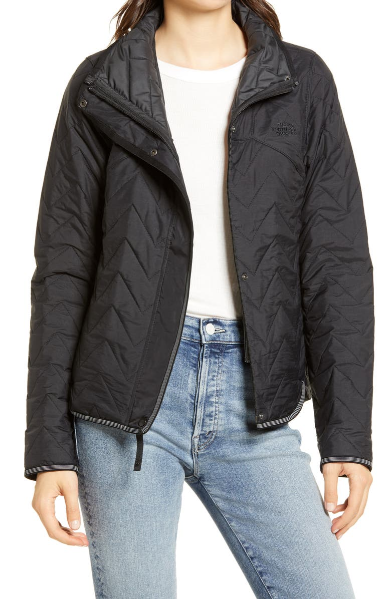 THE NORTH FACE Westborough Insulated Quilted Jacket, Main, color, BLACK