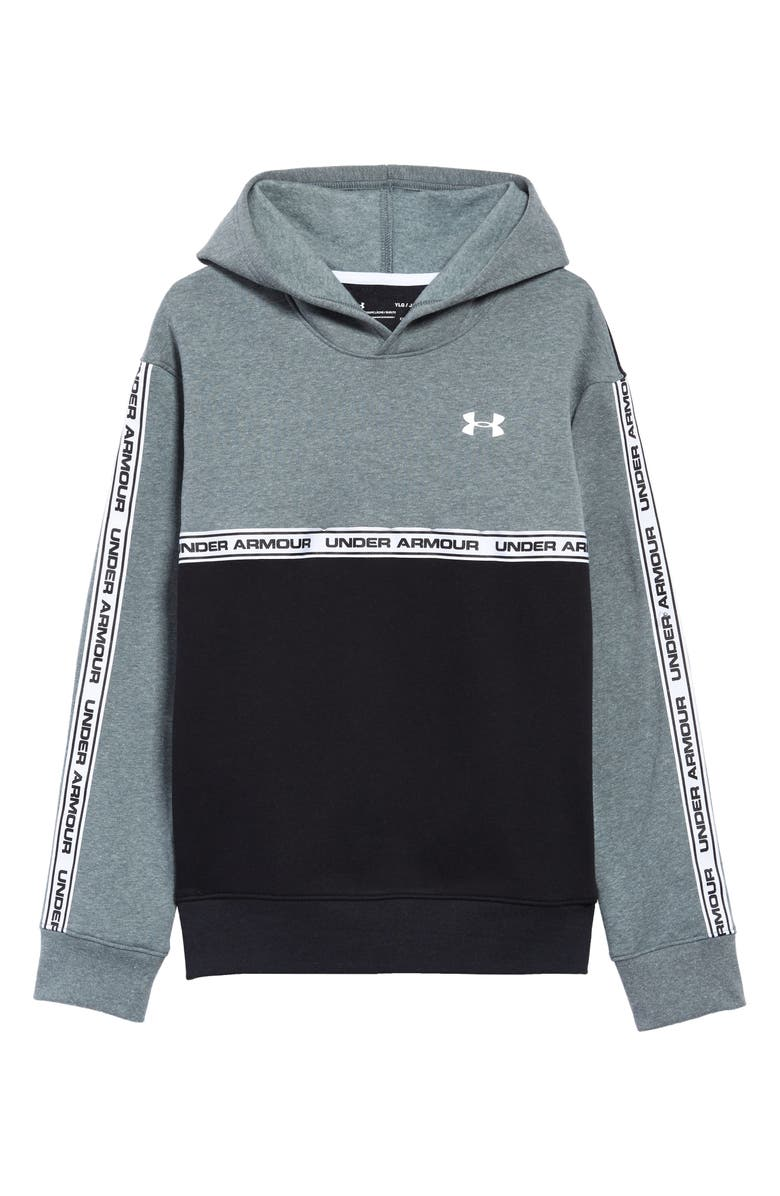 UNDER ARMOUR Sportstyle Pullover Fleece Hoodie, Main, color, 012