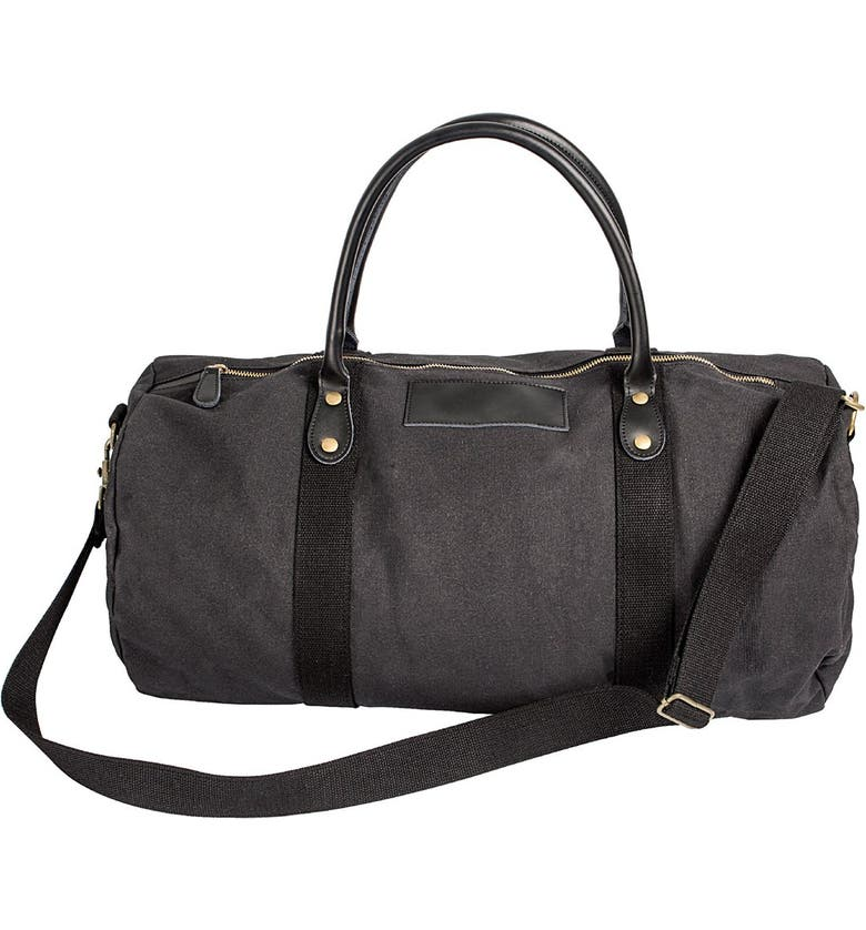CATHY'S CONCEPTS Cathys Concepts Monogram Duffle Bag, Main, color, 001