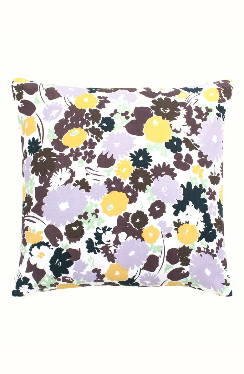 KATE SPADE NEW YORK swing floral accent pillow, Main, color, 650