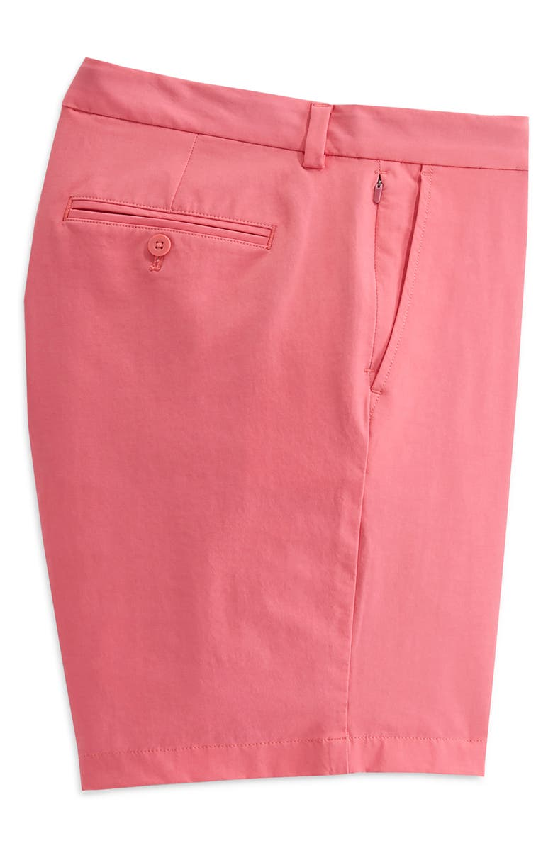 VINEYARD VINES On-The-Go Waterproof Performance Shorts, Main, color, JETTY RED