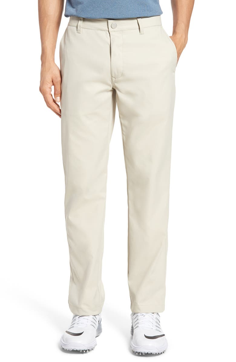 BONOBOS Highland Slim Fit Golf Pants, Main, color, STONE