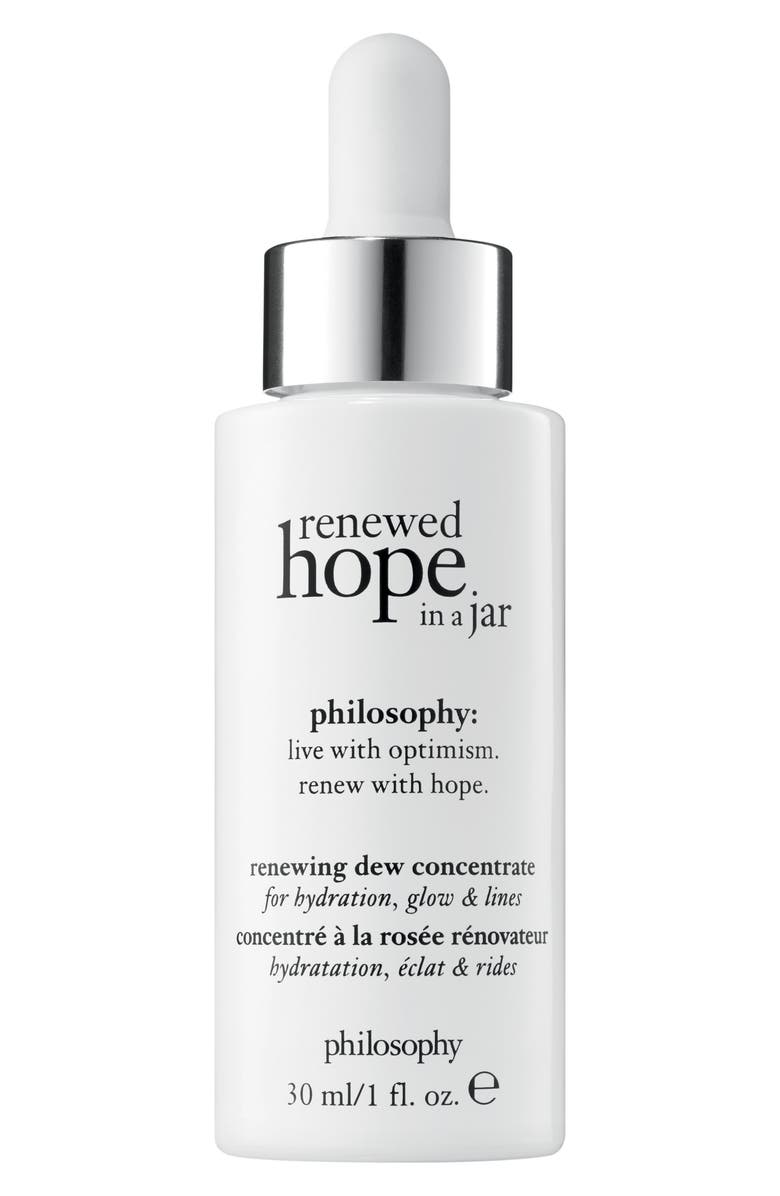PHILOSOPHY renewed hope in a jar renewing dew concentrate, Main, color, 000