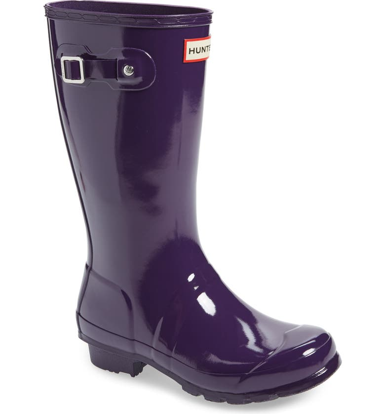 HUNTER Original Gloss Rain Boot, Main, color, 510