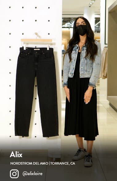 Loose Straight Leg Jeans, sales video thumbnail