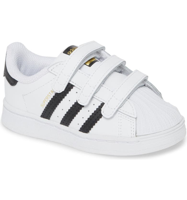 ADIDAS Superstar Sneaker, Main, color, WHITE/ CORE BLACK
