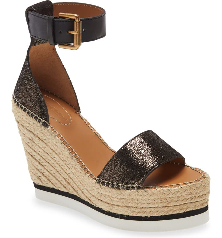 SEE BY CHLOÉ 'Glyn' Espadrille Wedge Sandal, Main, color, 041