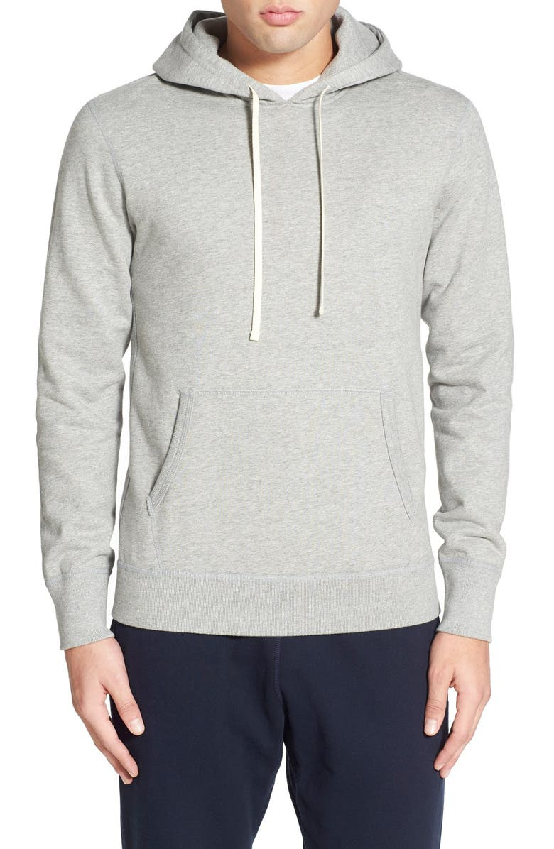 REIGNING CHAMP Trim Fit Hoodie, Main, color, 060