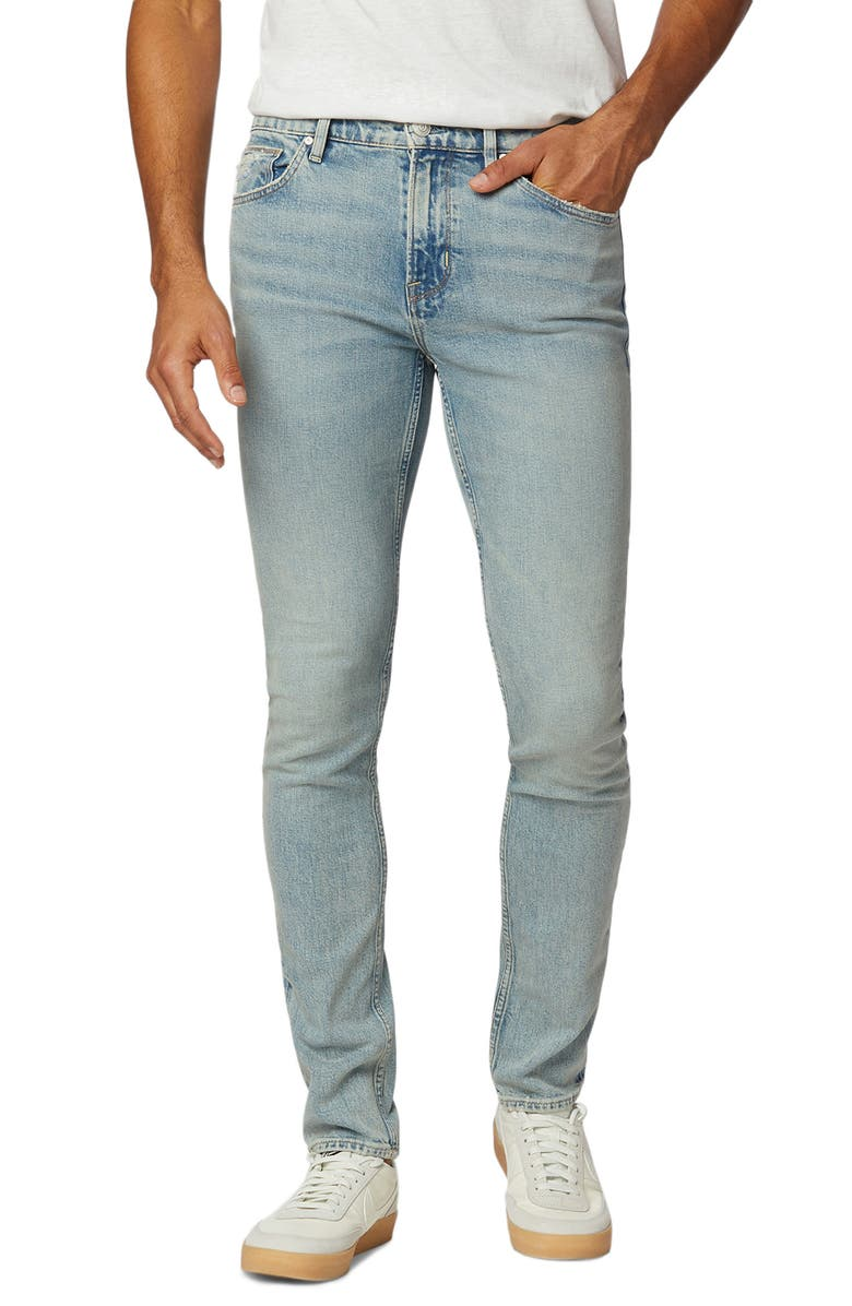 HUDSON JEANS Axl Skinny Fit Stretch Jeans, Main, color, SEASIDE
