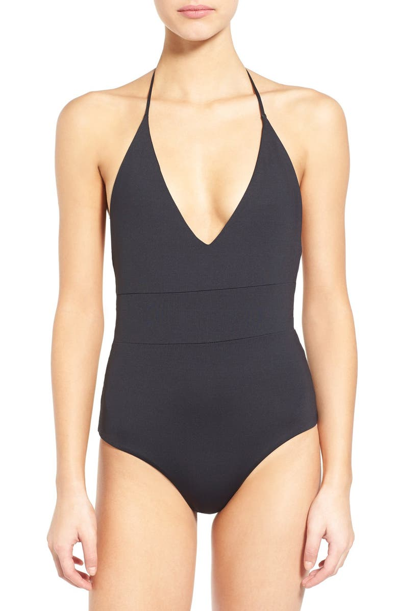 TAVIK 'Chase' Colorblock One-Piece Swimsuit, Main, color, 001