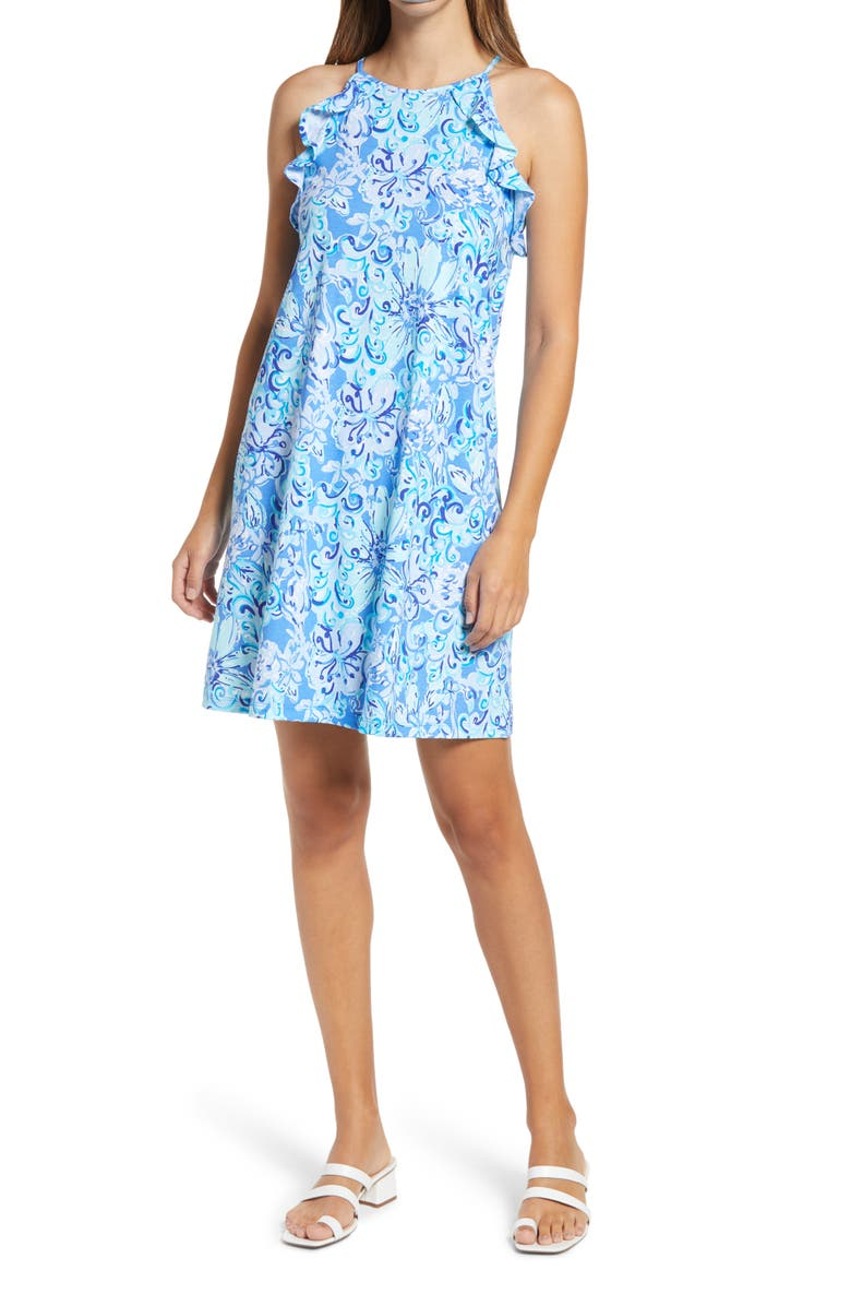 LILLY PULITZER<SUP>®</SUP> Billie Ruffle Swing Dress, Main, color, 415
