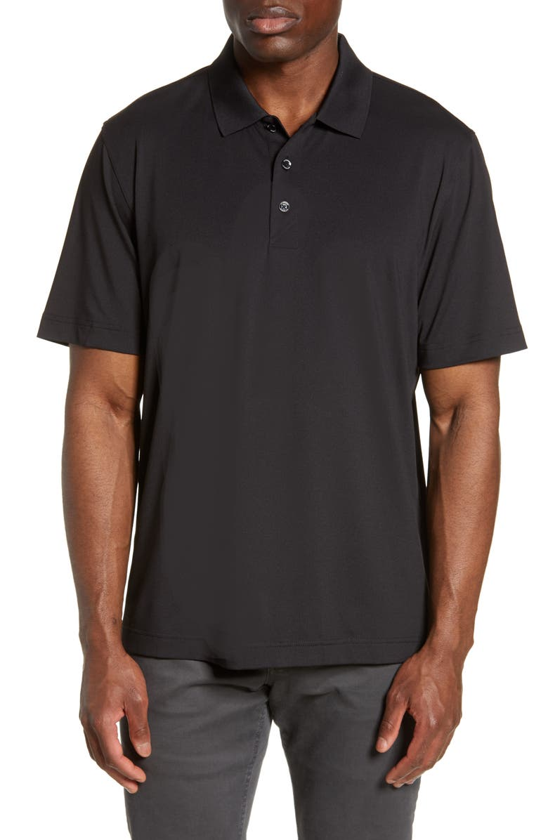 CUTTER & BUCK Forge DryTec Solid Performance Polo, Main, color, Black