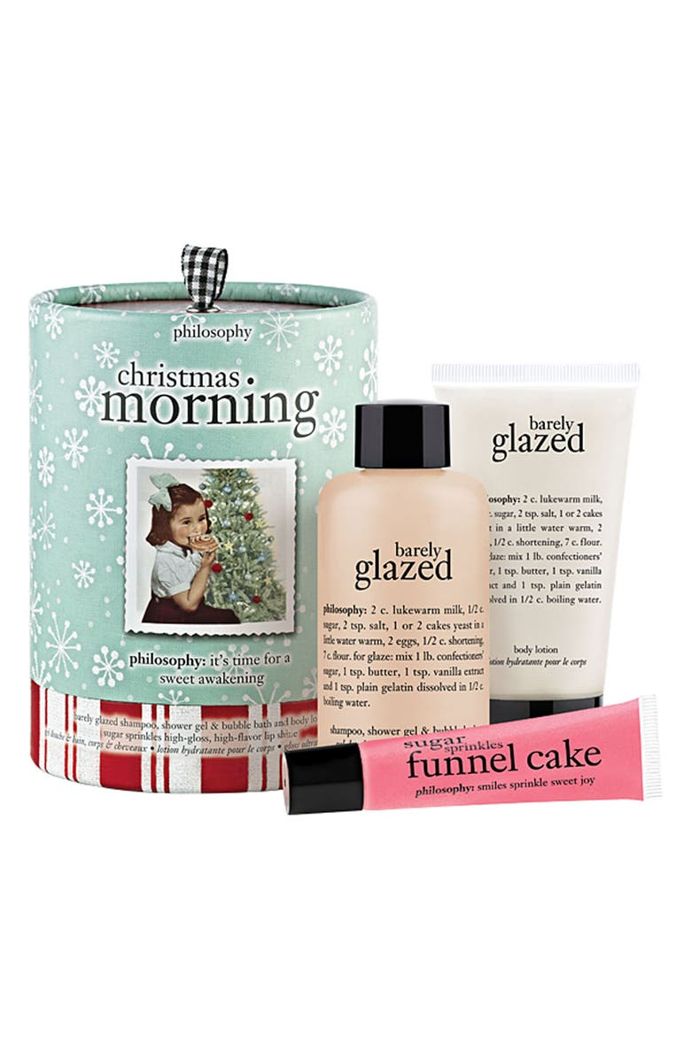 PHILOSOPHY 'christmas morning' gift set, Main, color, No Color