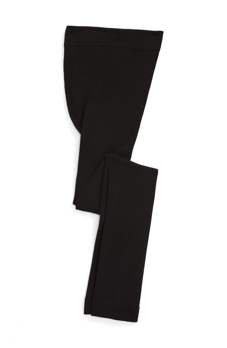 TUCKER + TATE Fleece Lined Tights, Main, color, 001