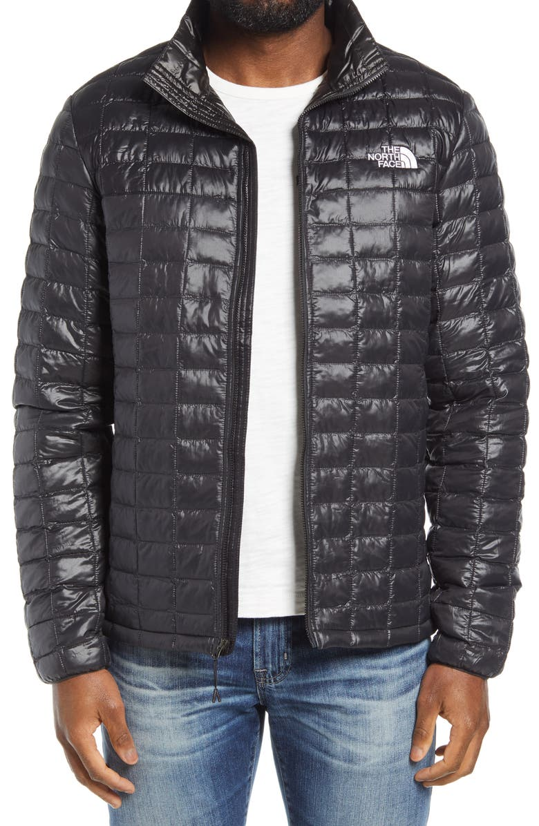THE NORTH FACE ThermoBall<sup>™</sup> Eco Packable Jacket, Main, color, TNF BLACK/ ASPHALT GREY