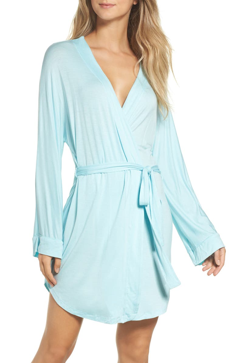 HONEYDEW INTIMATES All American Jersey Robe, Main, color, SOMETHING BLUE