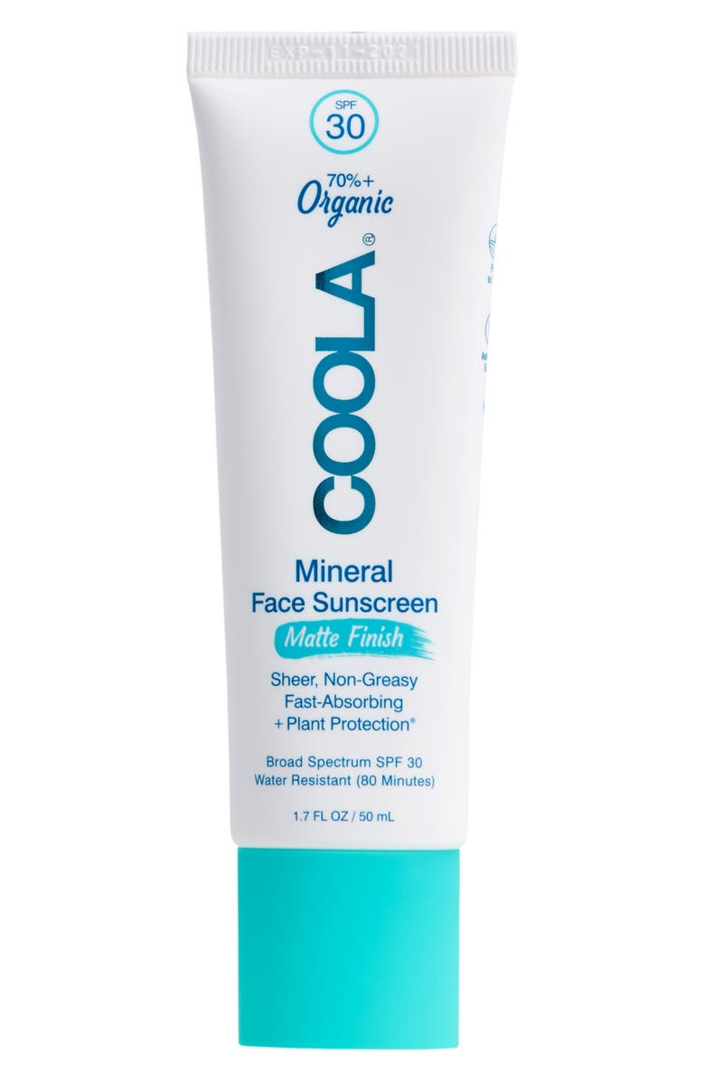 COOLA<SUP>®</SUP> Suncare Mineral Face Matte Finish Sunscreen Lotion SPF 30, Main, color, 000