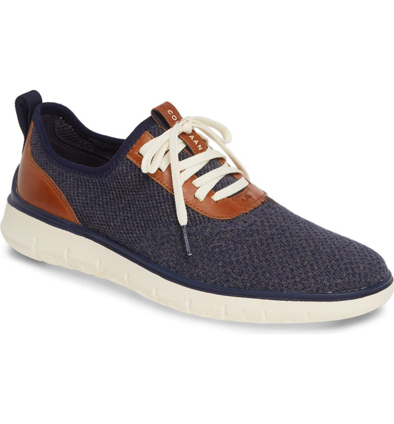 COLE HAAN Generation ZeroGrand Stitchlite Sneaker, Main, color, MARINE/ GRAY/ IVORY
