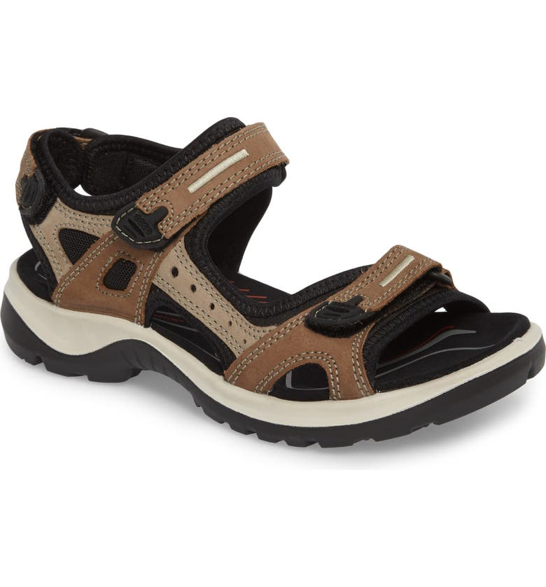 ECCO Yucatan Sandal, Main, color, BIRCH LEATHER