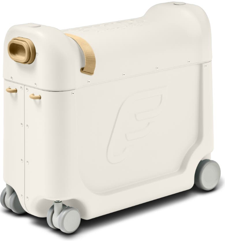 STOKKE Jetkids by Stokke Bedbox<sup>®</sup> 19-Inch Ride-On Carry-On Suitcase, Main, color, WHITE
