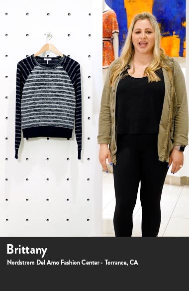 The Knit Stripe Pullover, sales video thumbnail