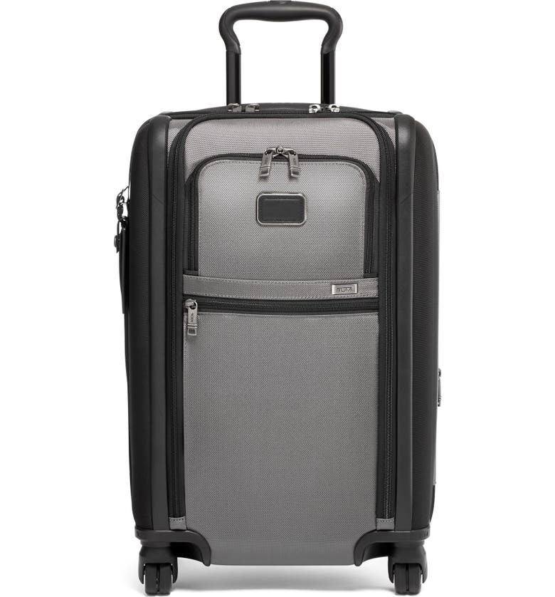 TUMI Alpha 3 Collection 22-Inch International Expandable Carry-On, Main, color, Grey