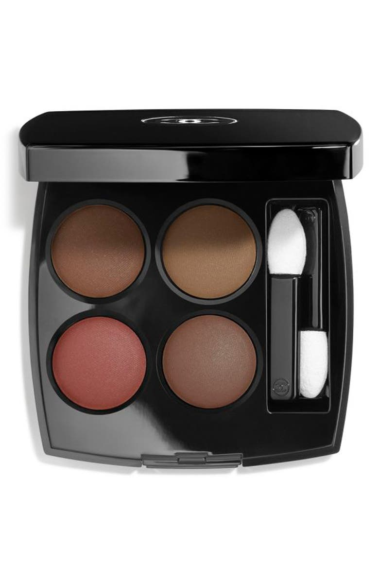 CHANEL LES 4 OMBRES <br />Multi-Effect Quadra Eyeshadow, Main, color, 268 CANDEUR ET EXPERIENCE