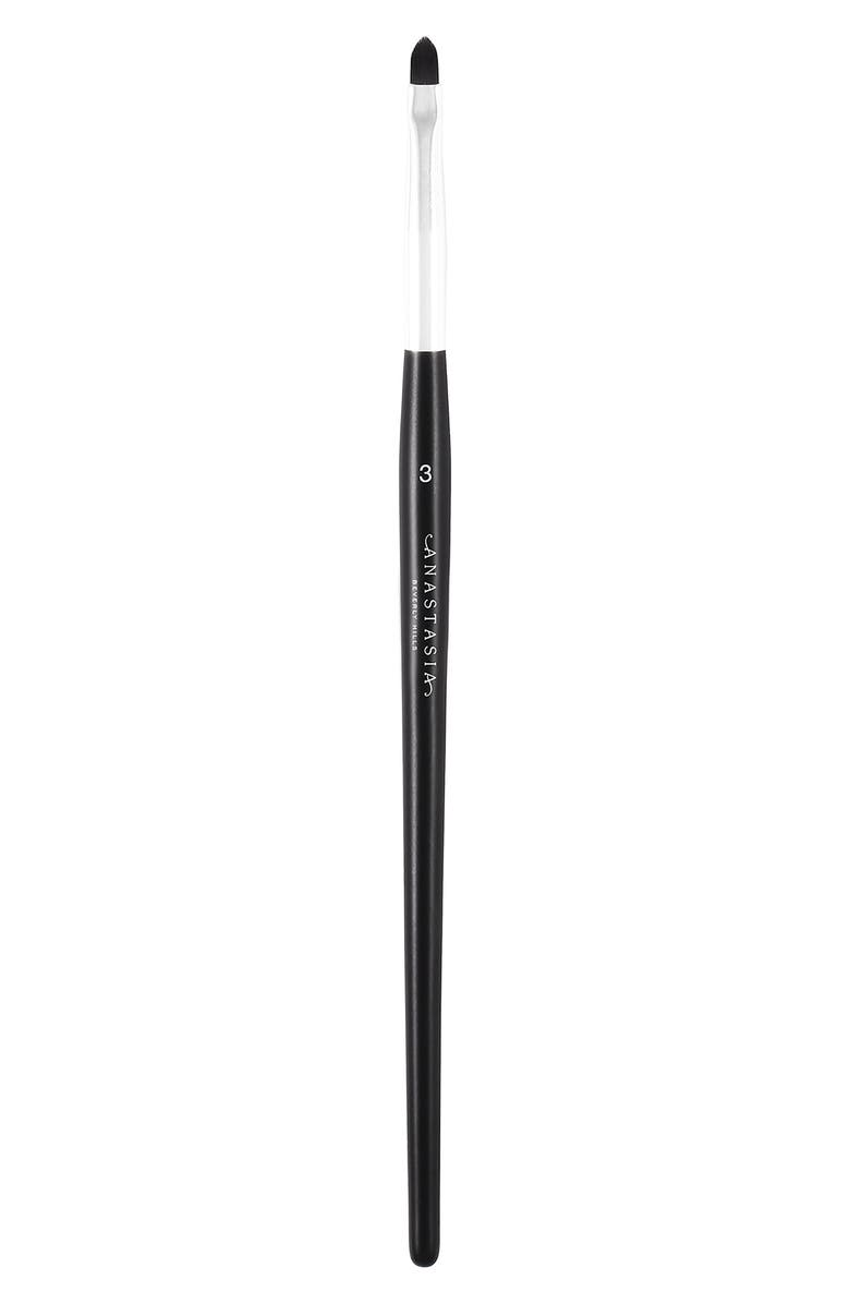 ANASTASIA BEVERLY HILLS #3 Eyeliner Brush, Main, color, 000