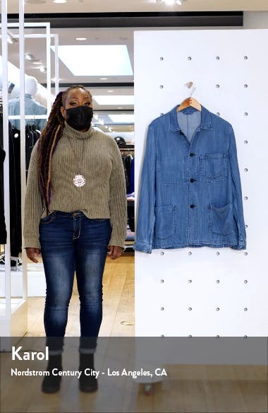 Chambray Chore Jacket, sales video thumbnail