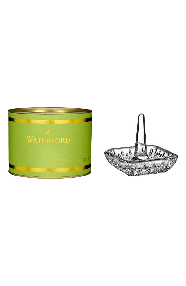 WATERFORD Giftology Lead Crystal Ring Holder, Main, color, 100