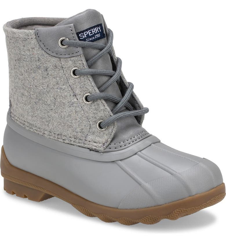 SPERRY Port Duck Boot, Main, color, GREY