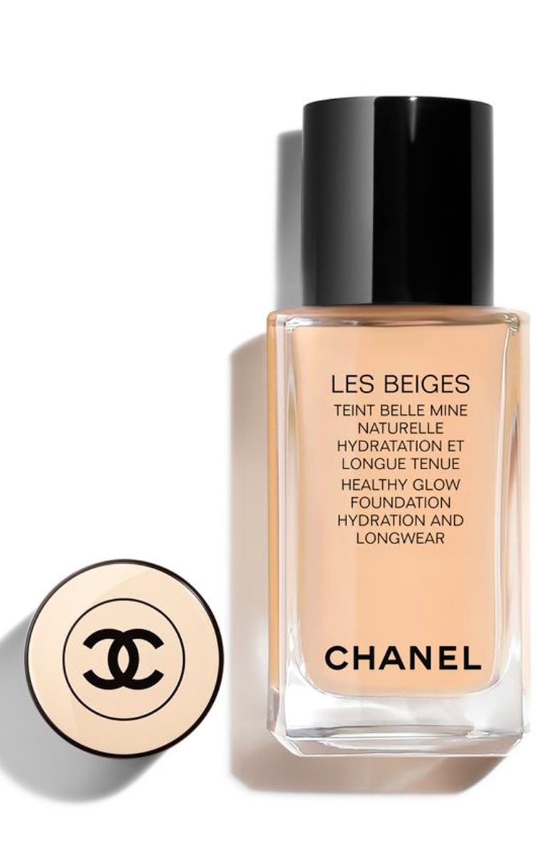 CHANEL LES BEIGES <br />Healthy Glow Foundation Hydration & Longwear, Main, color, B20