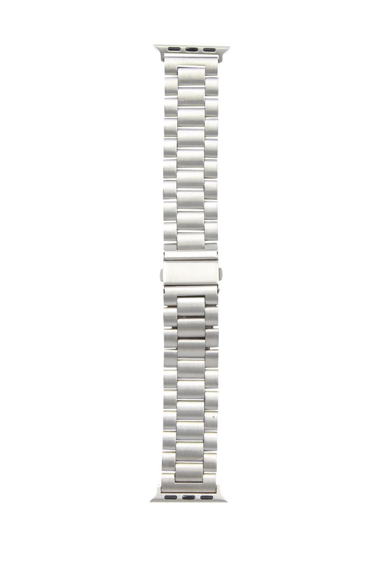 SARINA Women's Interchangeable Metal Link Watch Strap, Main, color, SILVER