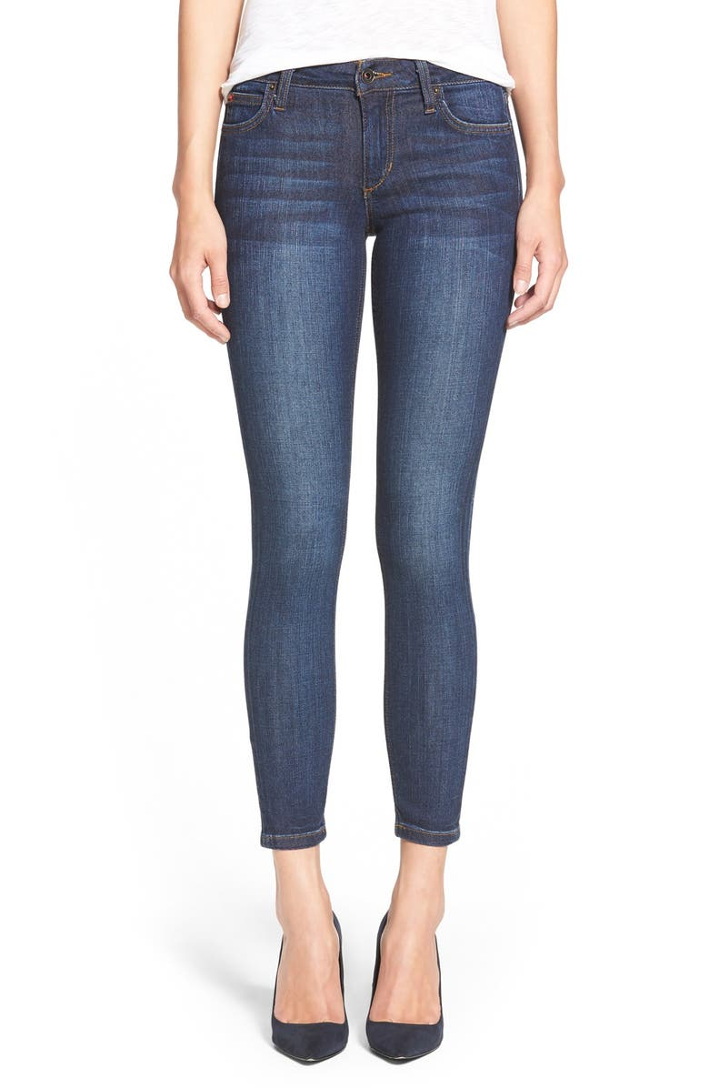 JOE'S 'Icon' Ankle Skinny Jeans, Main, color, 400