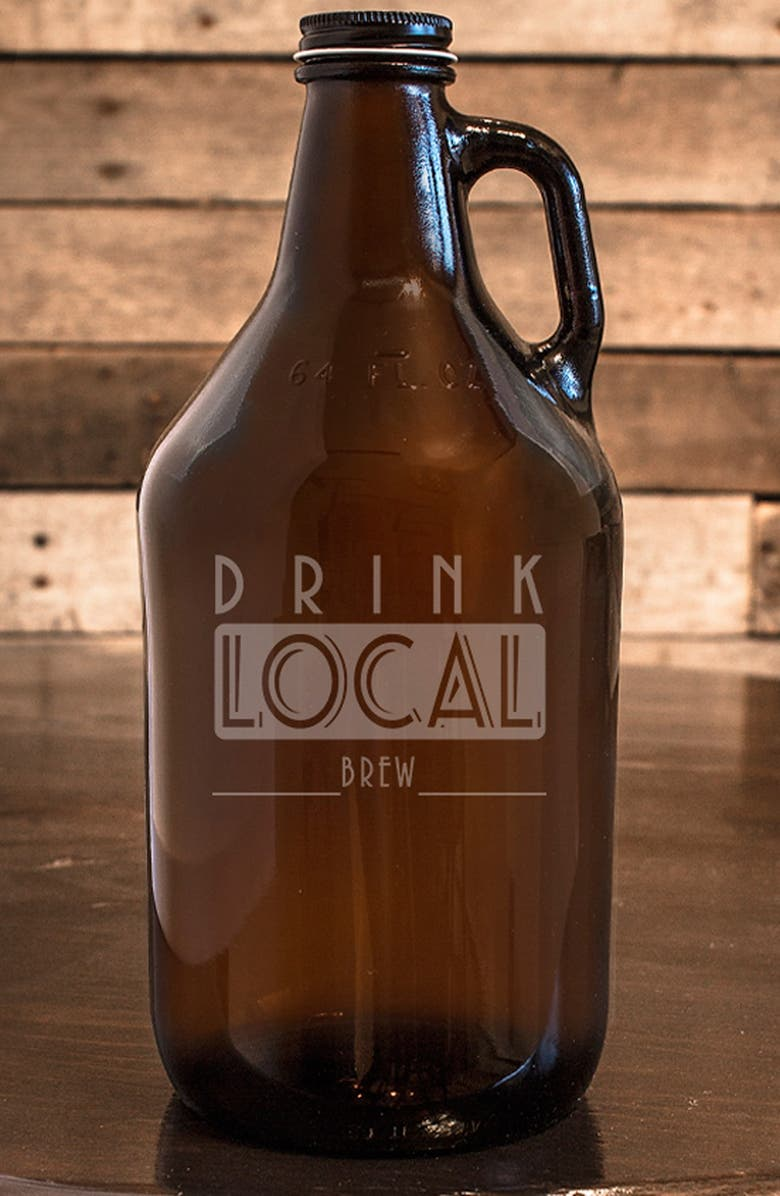 CATHY'S CONCEPTS 'Drink Local' Growler, Main, color, 700