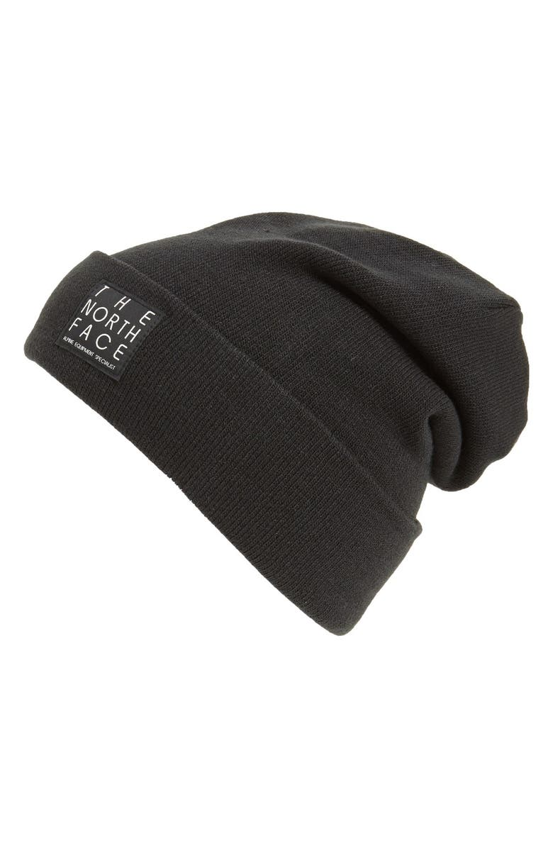 THE NORTH FACE 'Dock Worker' Beanie, Main, color, 001