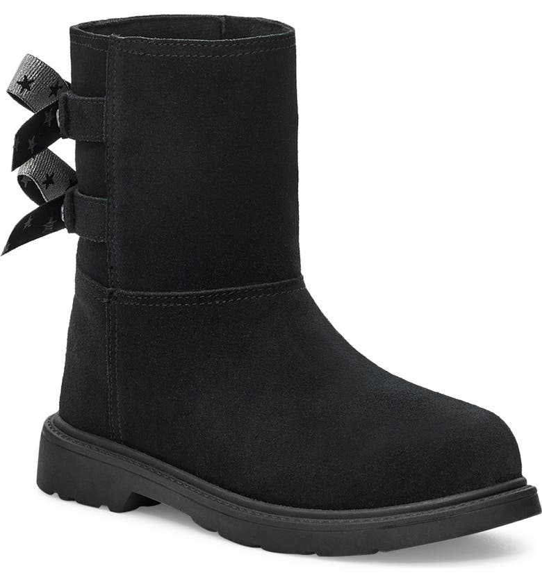 UGG<SUP>®</SUP> Kids' Tillee Boot, Main, color, Black