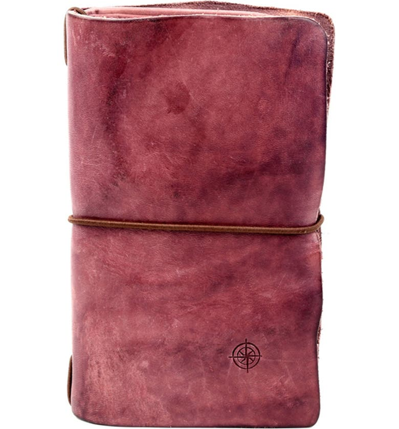 OLD TREND Nomad Genuine Leather Organizer, Main, color, LILAC